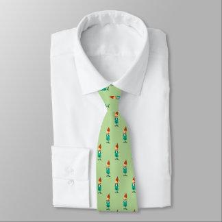 Gravata O Leprechaun afortunado de St Patrick