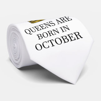 Gravata O Queens é nascido em outubro