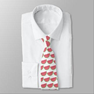 Gravata O rosa nacional do dia da melancia cortou o laço
