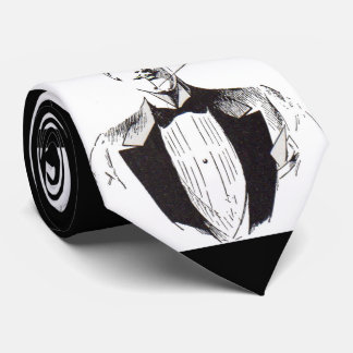 Gravata O Sr. Elegante, sharp vestiu o homem