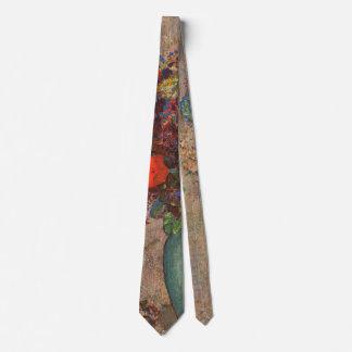 Gravata O vaso turco, Odilon Redon, vintage floresce