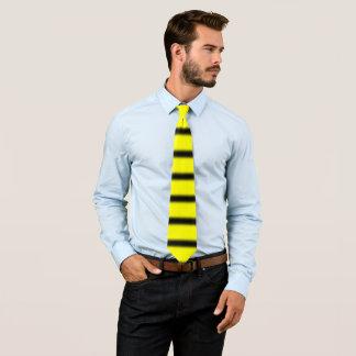 Gravata O zangão inspirou o teste padrão preto & amarelo