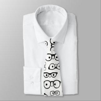 Gravata obtenha seu geek no laço dos homens do eyeglass