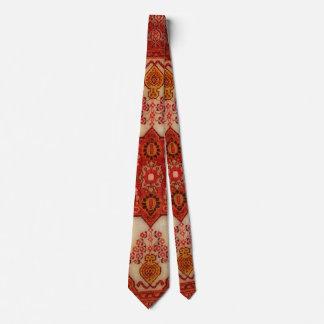 Gravata Olhar do tapete persa na cor de cobre