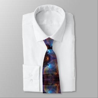 Gravata Orion banhou-se no azul