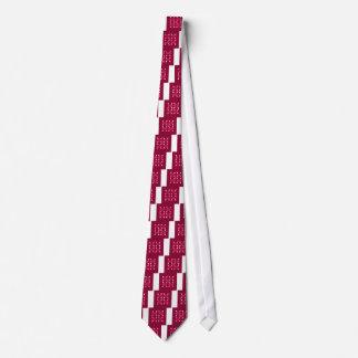 Gravata Ornamento populares vermelhos