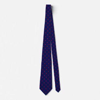 Gravata Os azuis marinhos amarram com teste padrão