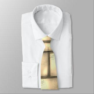 Gravata Ouro moderno/amarelo/laço bege do pescoço,