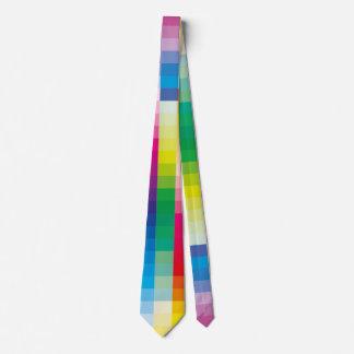 Gravata Pálete da cor do arco-íris