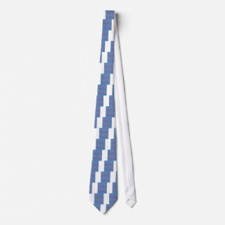 Gravata Palmas do design azuis