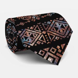 Gravata Pancadinha tribal peruana asteca do vintage do
