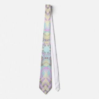 Gravata Pastel na mandala concreta da rua (variação)