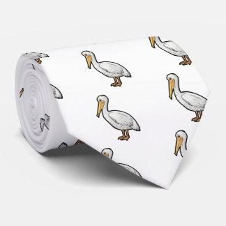 Gravata Pelicano americano