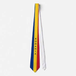 Gravata Personalize o laço da bandeira de Romania