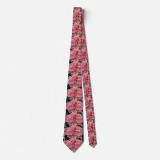Gravata Pescoço cor-de-rosa do Natal da poinsétia