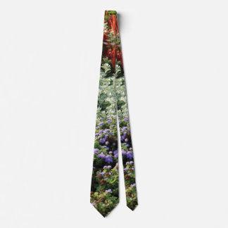 Gravata photographyTie colorido das plantas