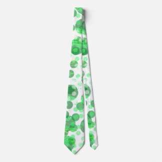 Gravata Pontos verdes afligidos
