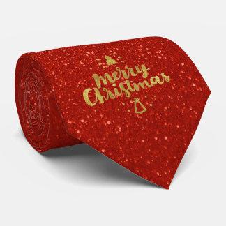 Gravata Presentes adoráveis vermelhos do Feliz Natal  