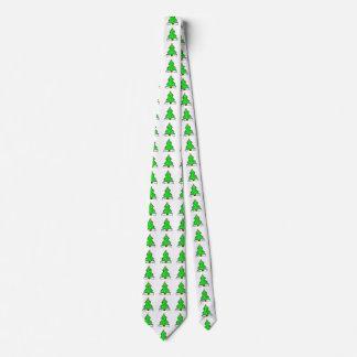 Gravata Presentes da festa natalícia do laço da árvore de