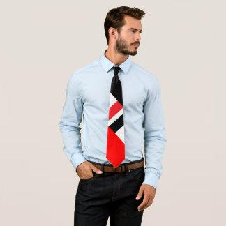 Gravata Preto branco vermelho
