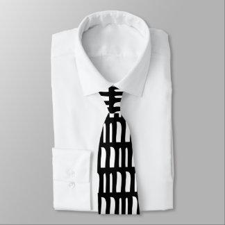 Gravata Preto e branco
