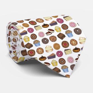 Gravata Produtos de forno da brownie do cupcake do bolo da