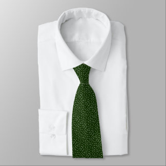 Gravata Profundamente - salpico verde