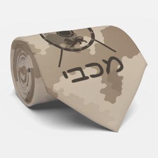 Gravata Protetor de Maccabee e lanças - deserto