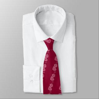 Gravata Punho cor-de-rosa do Dem do Soc