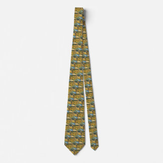 Gravata Quatro girassóis cortados por Vincent van Gogh,