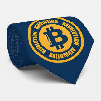Gravata Revolução de Bitcoin (versão inglesa)
