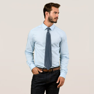 Gravata Riscas azuis