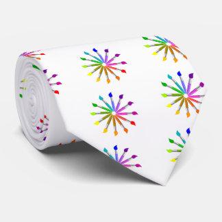 Gravata Roda de cor da escova de pintura, teoria da cor do