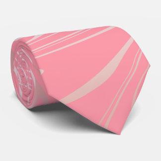 Gravata Rosa cor-de-rosa feminino à moda elegante do olhar