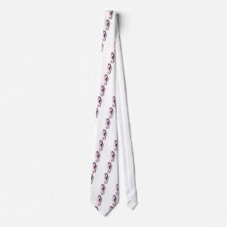 Gravata rosa do cavalo marinho
