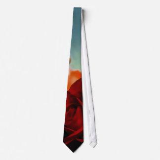 Gravata Rosa vermelha