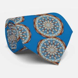 Gravata Rust-Mandala_126, cores da oxidação