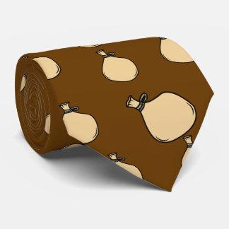 Gravata Saco medieval do saco de Brown