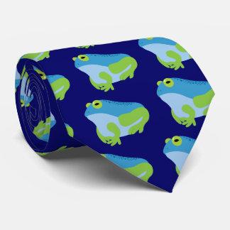 Gravata Sapo azul