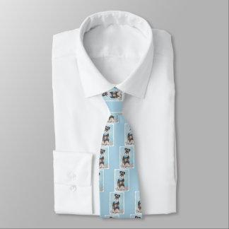 Gravata Schnauzer (diminuto)
