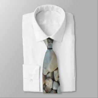 Gravata Seixos na fotografia da pedra da praia