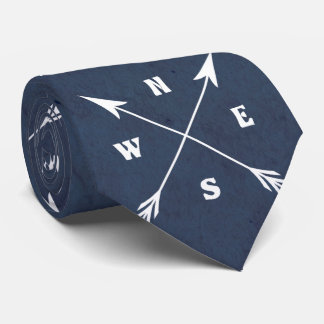Gravata Setas do compasso