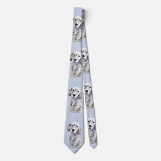 Gravata Setter inglês (Belton azul)
