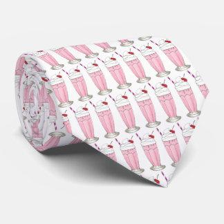 Gravata Sobremesa cor-de-rosa do batido da agitação do