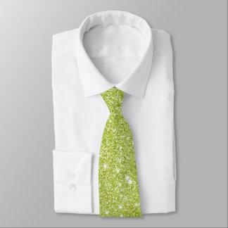 Gravata Sparkles do brilho do verde limão