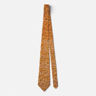 Gravata Superfície oxidada da placa de metal