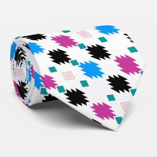 Gravata Teste padrão asteca colorido bonito