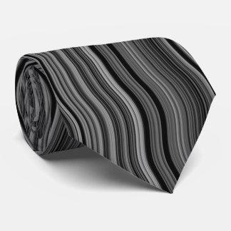 Gravata Teste padrão Curvy ondulado à moda moderno
