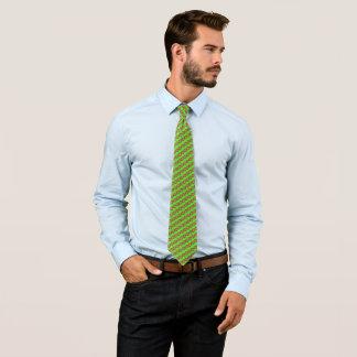 Gravata Teste padrão tecido louco de Marco Polo do verde