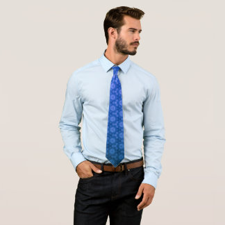 Gravata Textura azul
